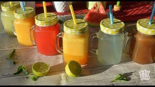 ছয় রকমের মজাদার জুসের রেসিপি ।। রমজান স্পেশাল ২০১৮ ।। Six Yummy Summer Drink Recipe