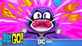 Teen Titans Go! En Español | Entrenamiento de barrigas | DC Kids