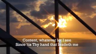 He leadeth me (with lyrics) - Candi Pearson-Shelton