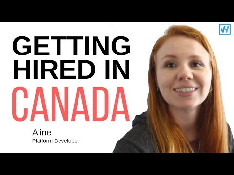 How Aline Got Hired In Waterloo, Canada