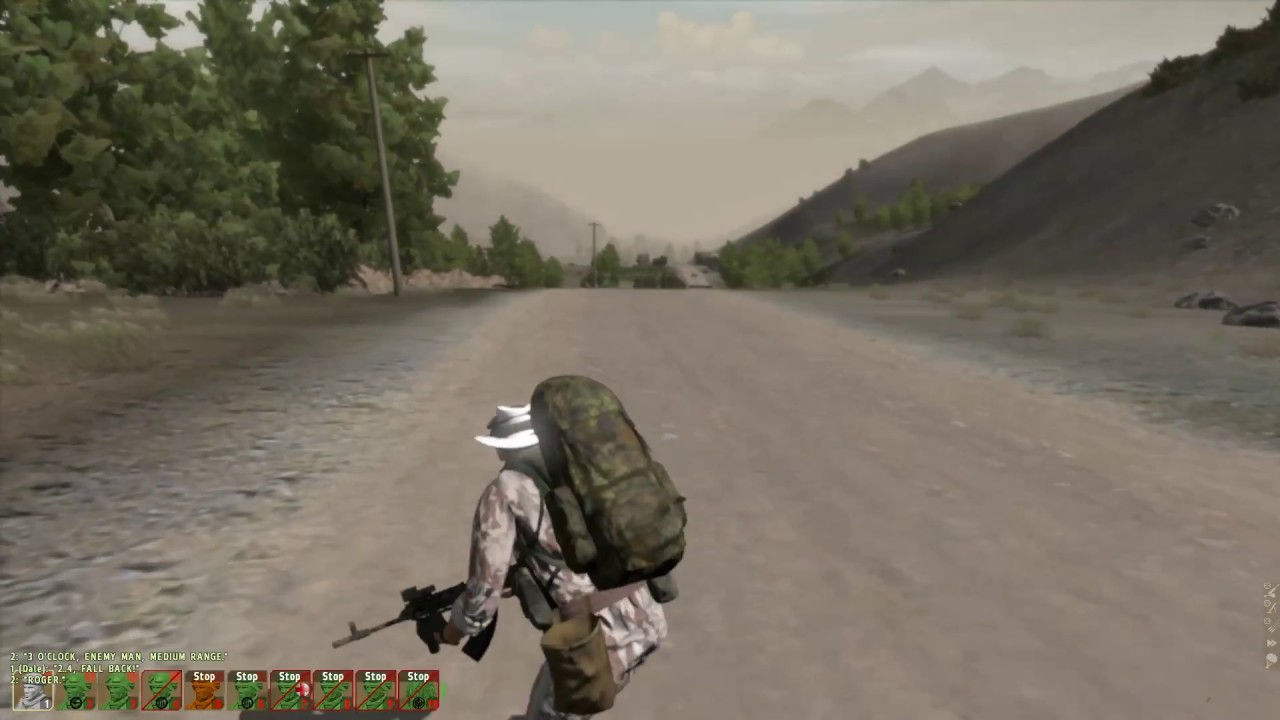 arma2ace, some old gameplay
