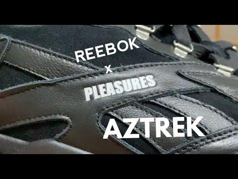 REEBOK x PLEASURES AZTREK review and on