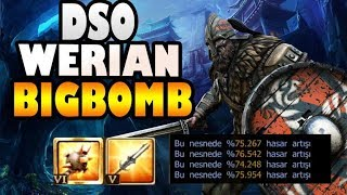 Drakensang Bigbomb New Weapon!! Stats & Damage Test