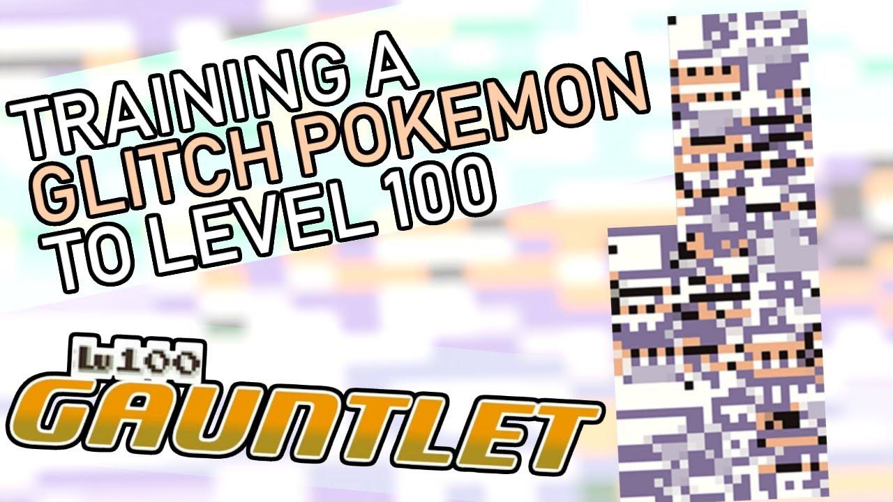 373 - Training a Glitch Pokemon to Level 100!! Level 100 Gauntlet