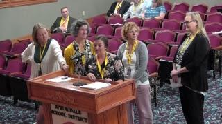 Springdale Public Schools | August School Board Meeting