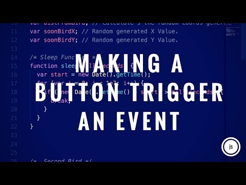 Making A Button That Triggers Something (javascript, Html)