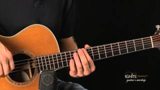 Barre Chord Families - Learn Intermediate Acoustic Guitar Lesson