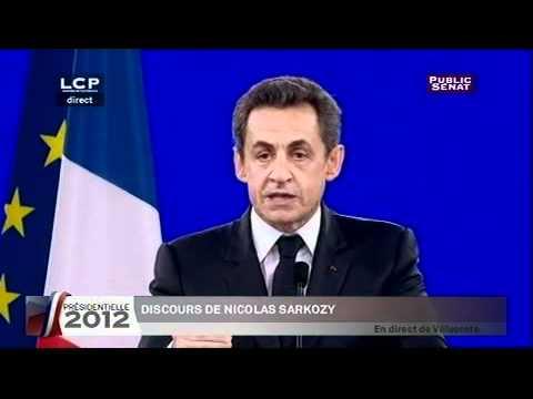 Meeting de Nicolas Sarkozy à Villepinte, 11/03/2012