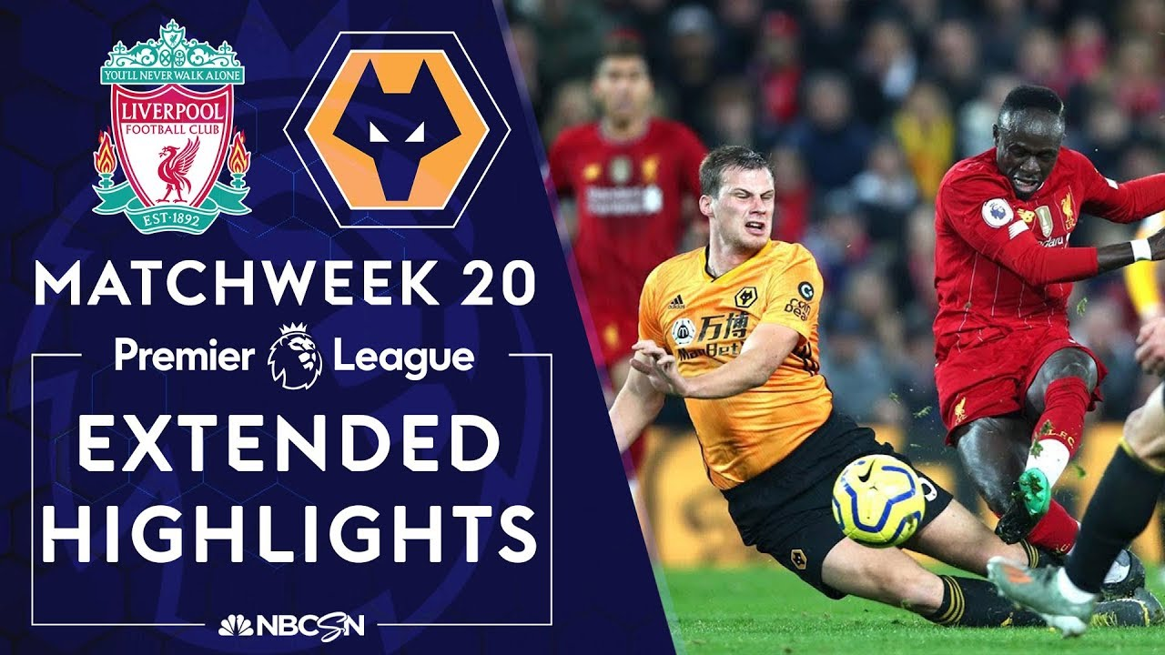 Liverpool v. Wolves | PREMIER LEAGUE HIGHLIGHTS | 12/29/19 | NBC Sports
