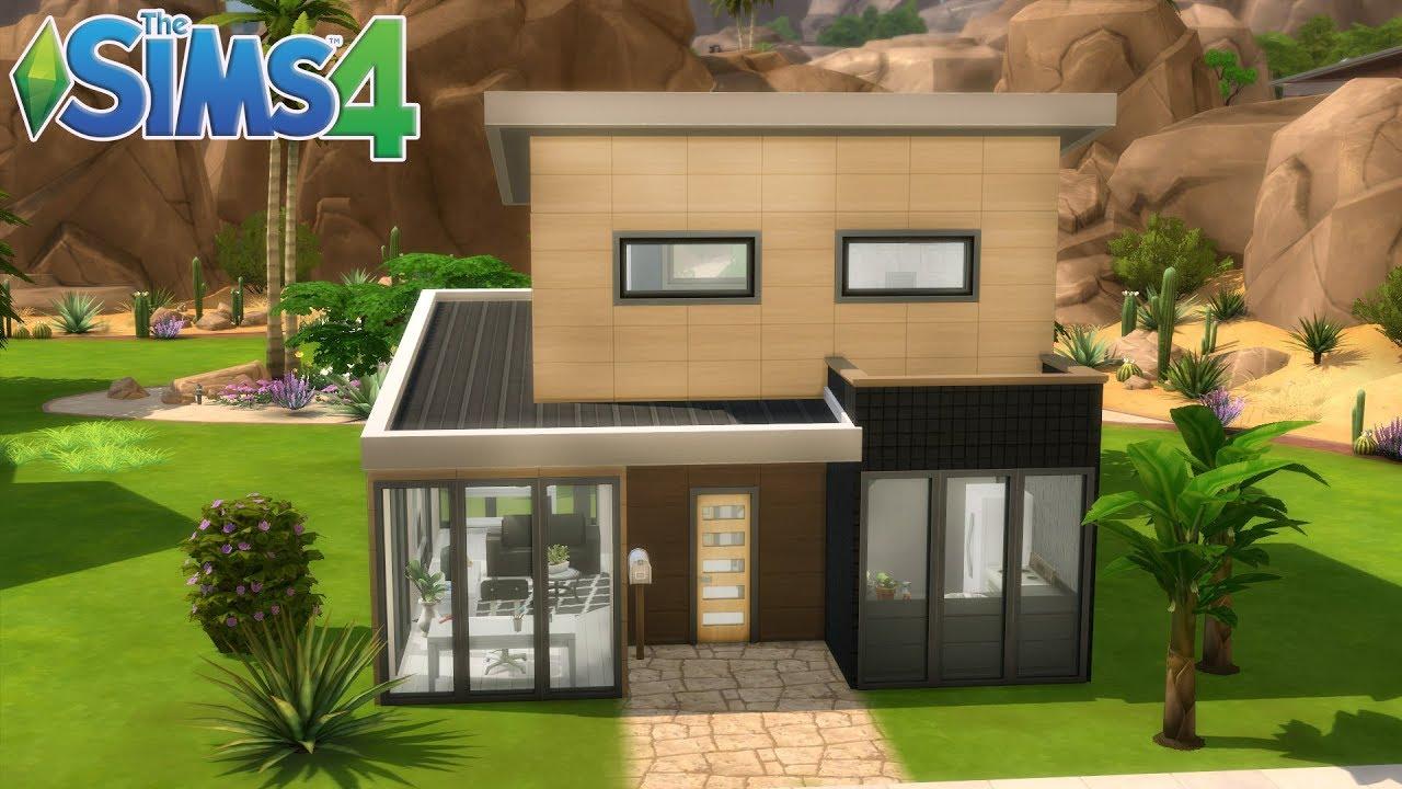 Les Sims 4 Maison A 20000 Simflouz 100 Jeu De Base Youtube
