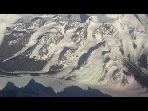 Delta Plane Taking Off From Anchorage Alaska Ted Stevens International Airport - First Class Seat 1A