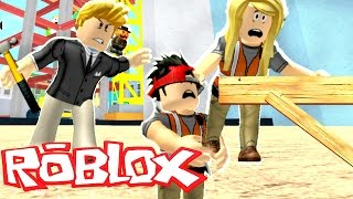 WE GOT A JOB BUT OUR BOSS TRICKED US!! | Roblox Roleplay