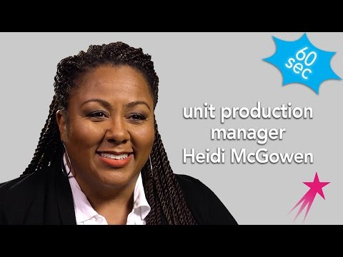 Unit Production Manager | Heidi McGowen | 60 Seconds