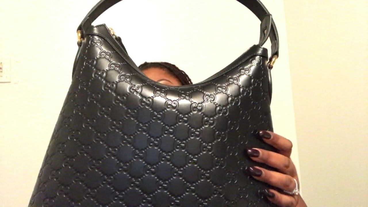 6229cb60234 Gucci GG Signature Hobo Handbag - YouTube