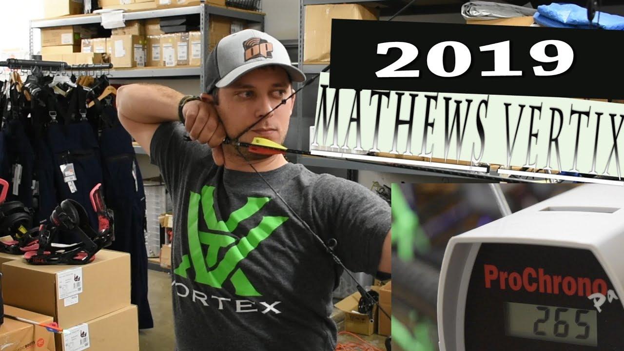 2019 MATHEWS VERTIX | SPEED TEST & REVIEW - Garrett Weaver