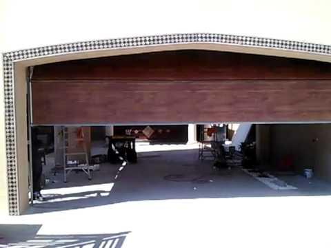 Puertas de cocheras garcias youtube - Puertas de cochera ...