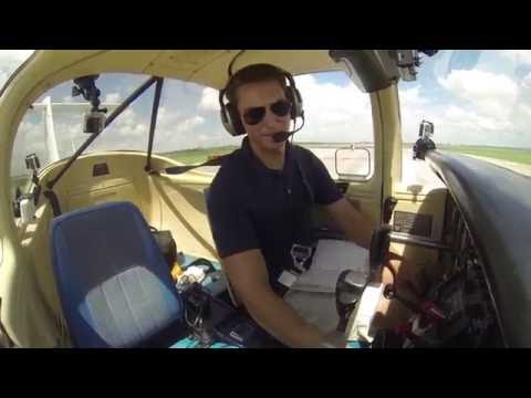 Piper Tomahawk | Maintenance Flight | ATC Audio
