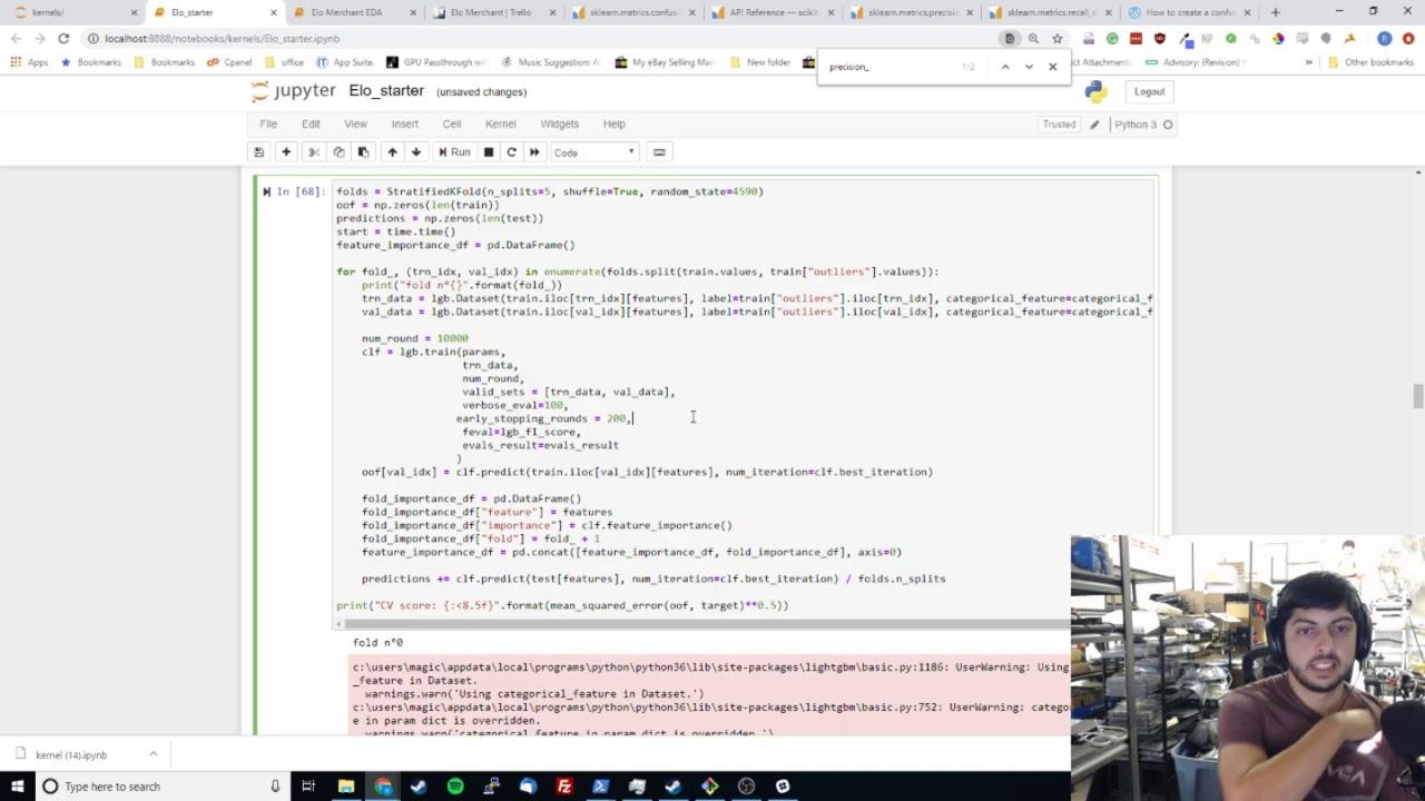 Kaggle Elo Merchant Category Recommendation EDA 12/9/2018 - YouTube