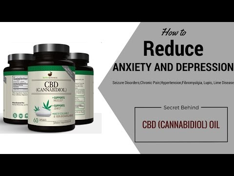 How To Reduce Anxiety And Depression |  Secret Behind CBD Cannabidiol Oil