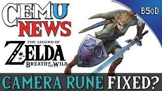 Cemu News   Camera Rune Fixed   Zelda  Breath of the Wild