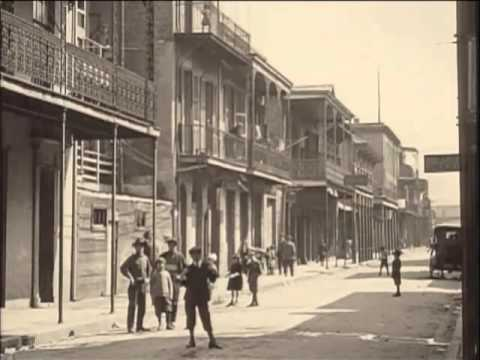 New Orleans Film Clips 1920s with obscure New Orleans song.