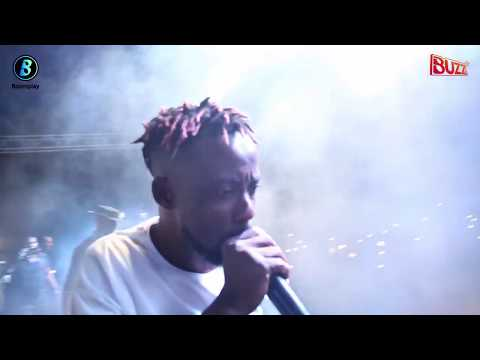 Erigga Wows Fans With Dope Rhymes At Pop Campus Fest