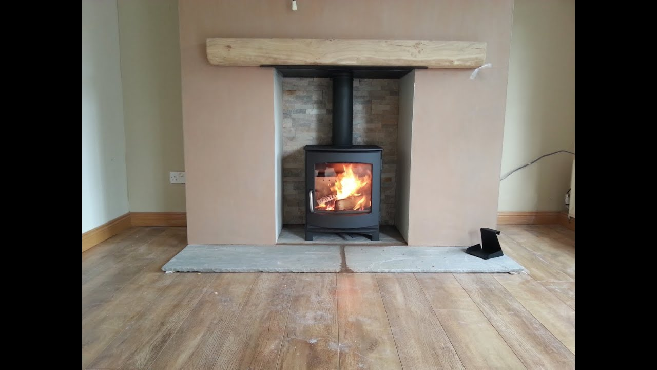 Dg Ivar Stove Installation Of Fireplace And Wood Burning Timelapse You