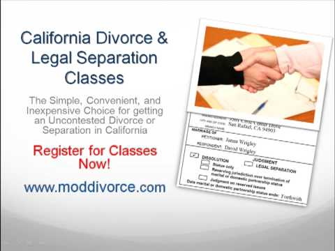 The easiest california do it yourself divorce program youtube the easiest california do it yourself divorce program solutioingenieria Images