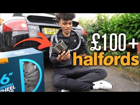 "Spending £100+ on BAD Halfords CAR ""MODS""…"