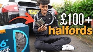 """Spending £100+ on BAD Halfords CAR """"MODS""""..."""