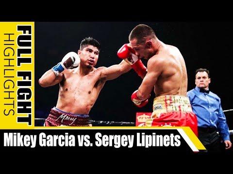 SALINSING: Garcia Vs. Lipinets FULL FIGHT Highlights