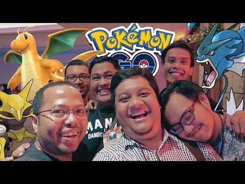 Ayo Main Pokemon GO! (7) POPCON ASIA, Gyarados, Dragonite!!!