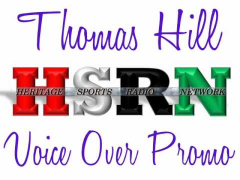HSRN : HBCU Sports : Black College Sports : Heritage Sports Radio Network : Thomas Hill Voice Over