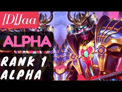 [Rank 1 Alpha] Alpha Gameplay and Build By [D]Jaa Mobile Legends