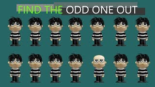 You Have Unique Eyesight Don39t You So Find The Odd One Out