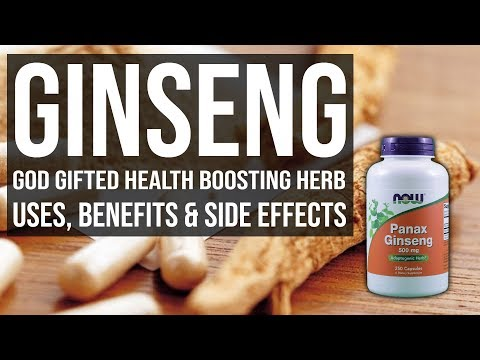 Ginseng God gifted Health Boosting Herb Uses, Benefits & Side Effects