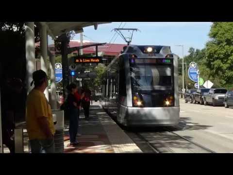 Purple Line METRORail Ride To University Of Houston's Main Campus