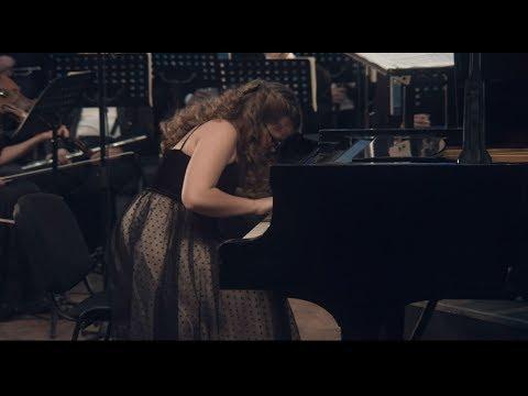 Кристина Михайличенко, Концерт для фортепиано с оркестром № 1 Ференц Лист