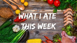 Indian non-vegan diet | What I ate this week in Tamil - Part 1
