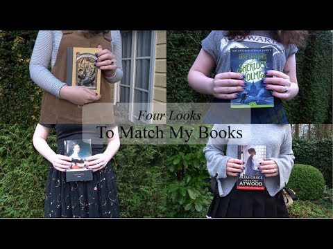 Four Looks to Match My Books