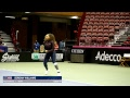 World Group Fed Cup R1 2018: Serena Williams x CoCo Vandeweghe Hitting Session