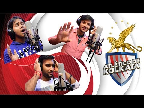 The ATK Song  | Team 2017 | Amar Tomar Kolkata | The Sound Studio