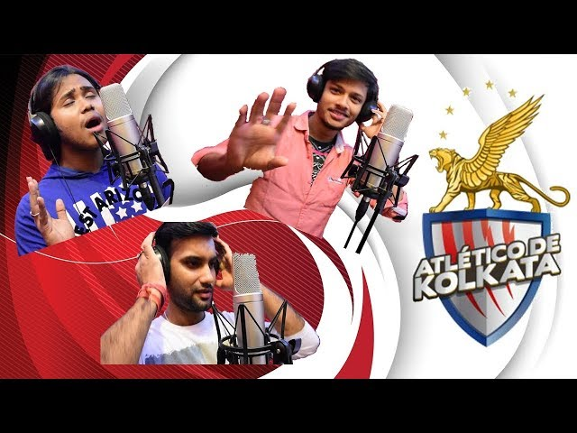 The ATK Song  | Team 2017 | Amar Tomar Kolkata | The Sound Studio