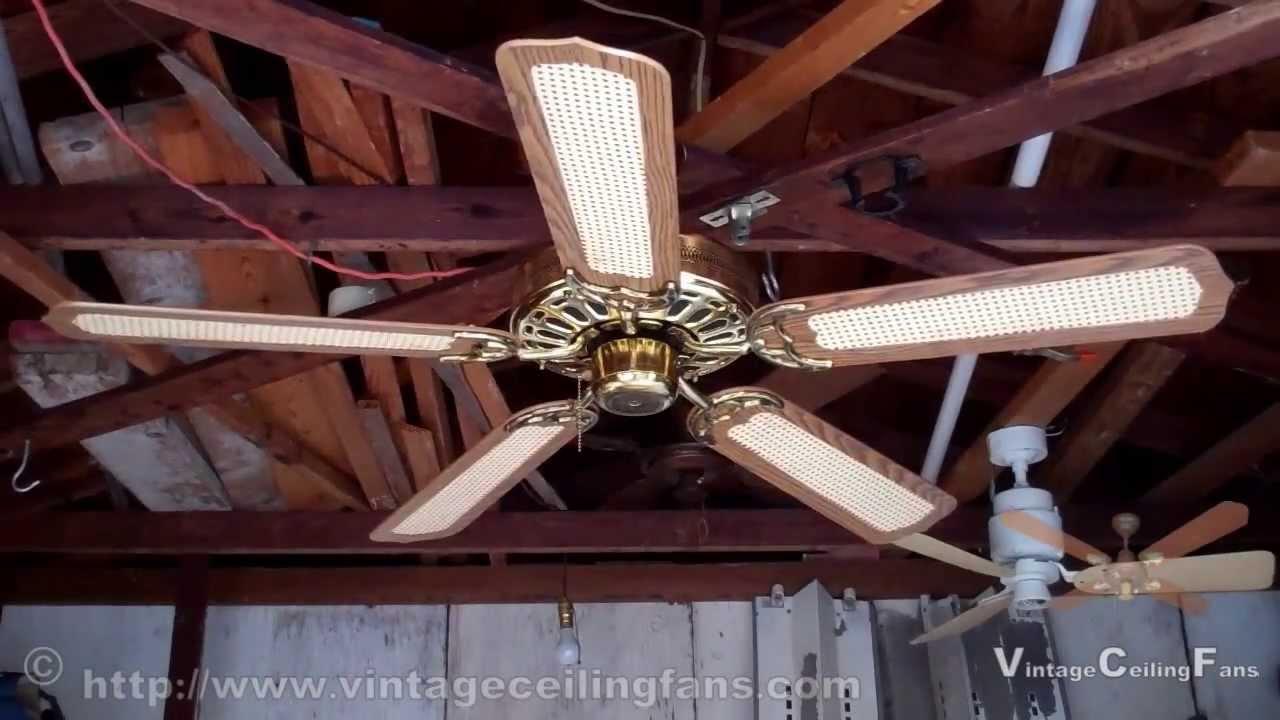 JCPenney - Moss Heirloom Deluxe Ceiling Fan 1 - YouTube