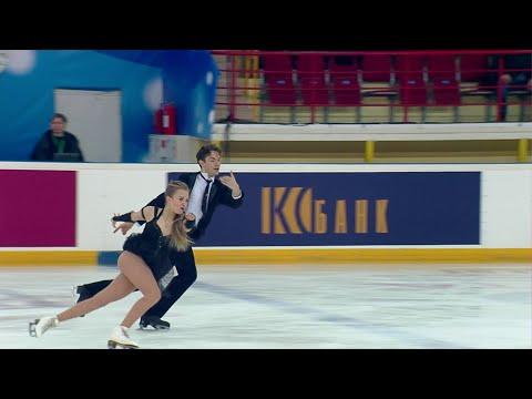 Арина Ушакова - Максим Некрасов. Произвольный танец. Танцы. Первенство России по фигурному катанию