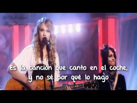 Teardrops In My Guitar - Taylor Swift - Live - Traducida al español