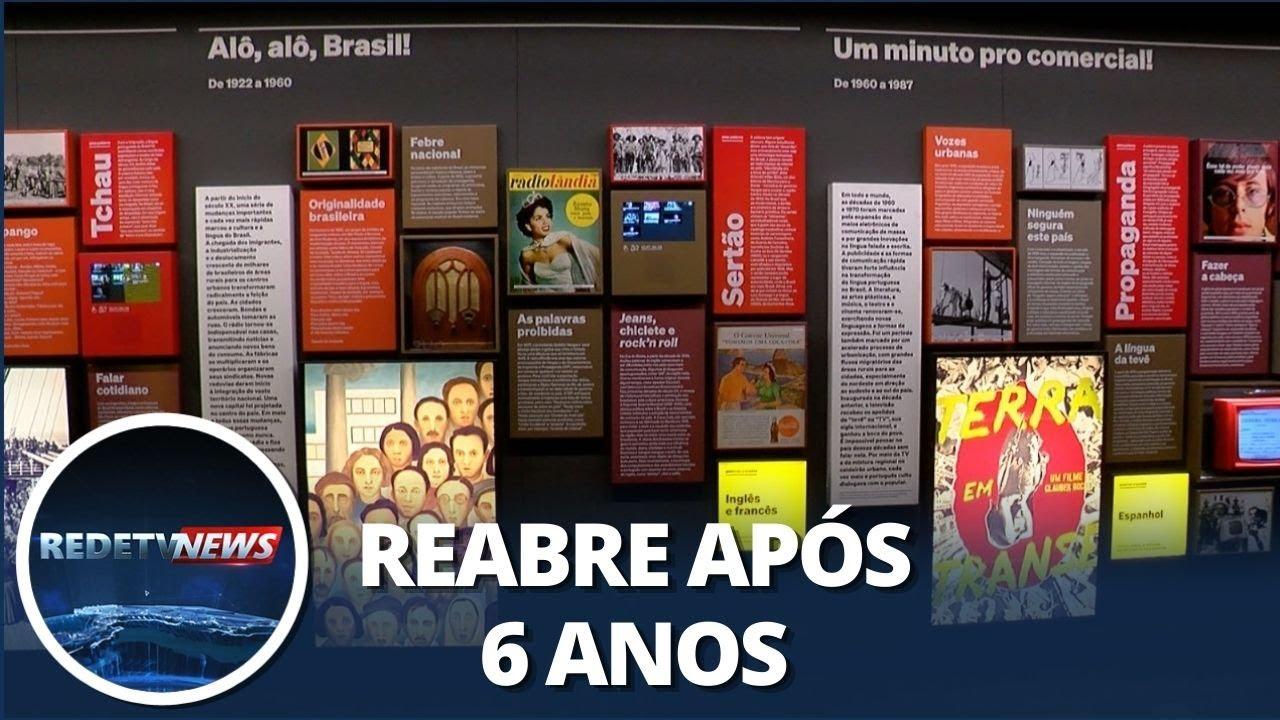 Museu de Língua Portuguesa será reinaugurado após incêndio
