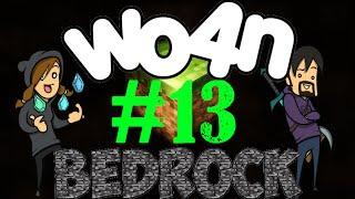 Wo4n: Minecraft Bedrock - Episod 13 - UFO visar lite