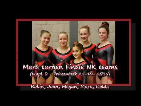 Mara Turnen / Gymnastics Finale NK teams suppl. D- 21-11-2015 HD