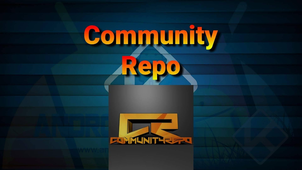 How to enable Community Repo (Kodi)